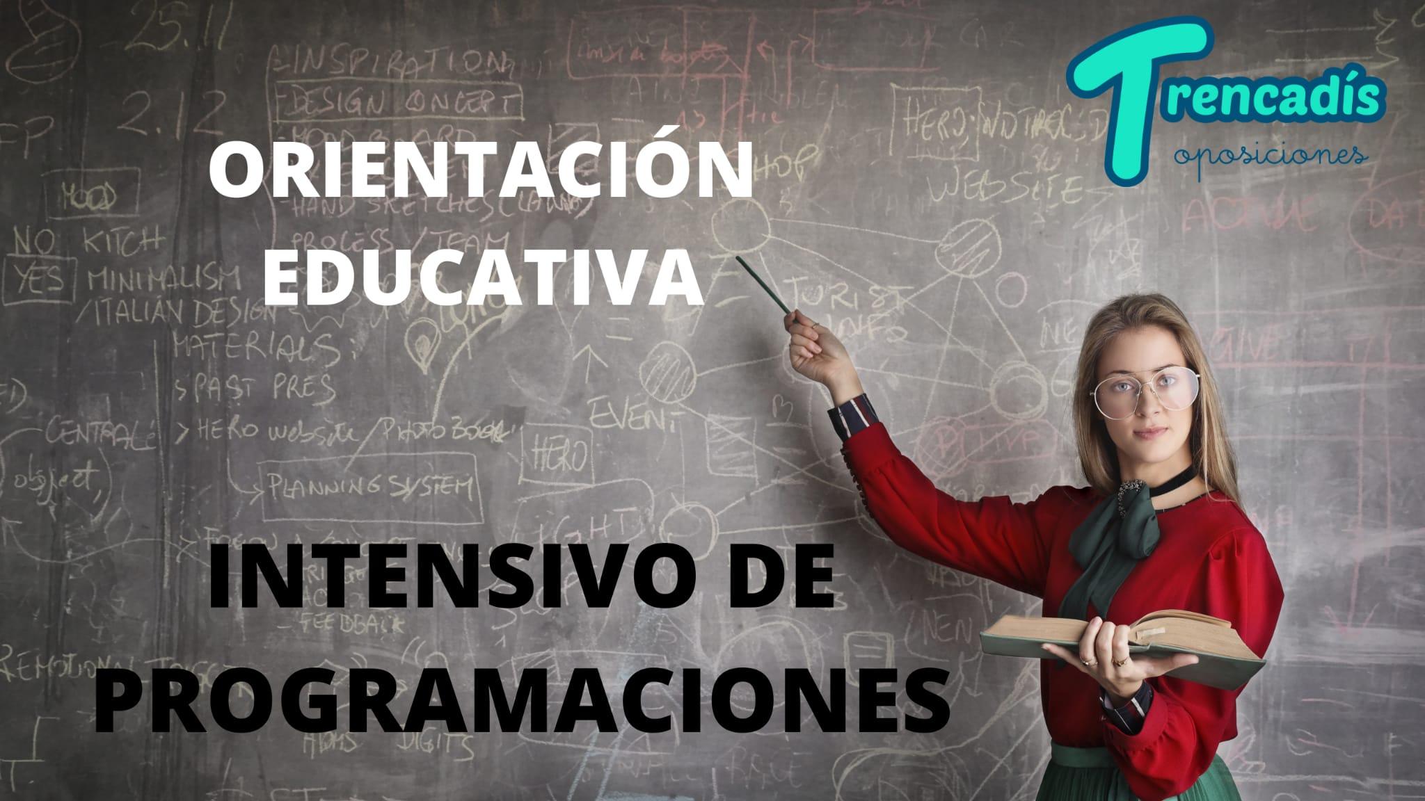 Curso Intensivo de Programaciones en Orientación Educativa