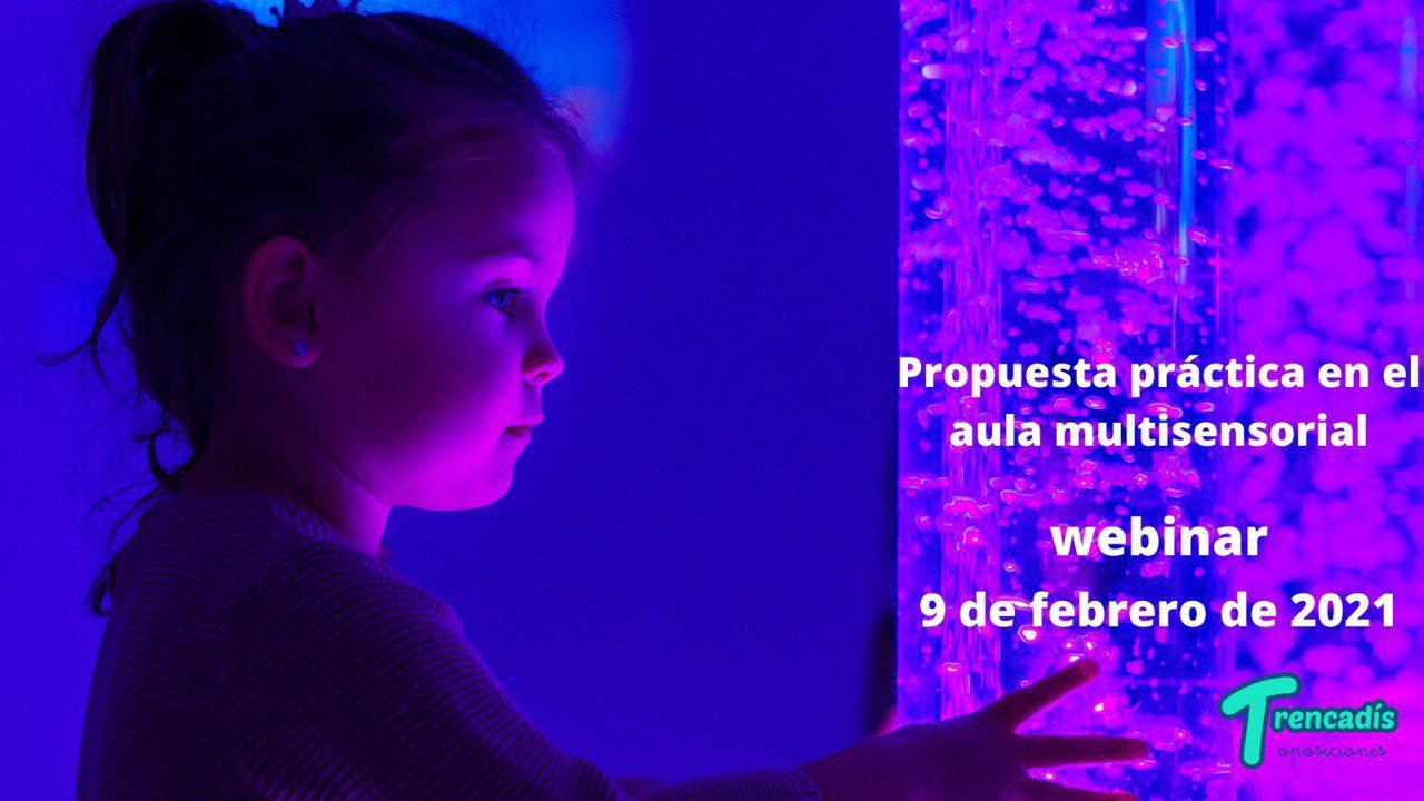 Webinar sobre propuestas prácticas en el aula multisensorial